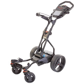 Big max hunter quad electric trolley with lithium battery van kantoor artikelen tip.