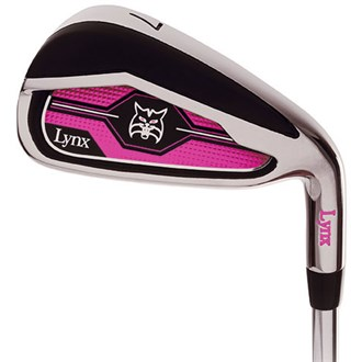 Lynx ladies crystal irons (graphite shaft)