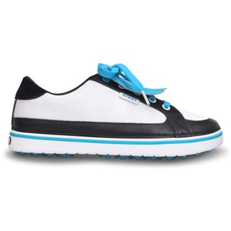 Crocs Ladies Braydn Golf Shoes WhiteBlue