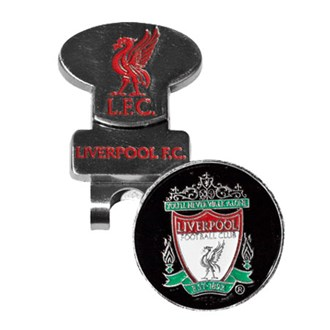 Liverpool hat clip with ball marker