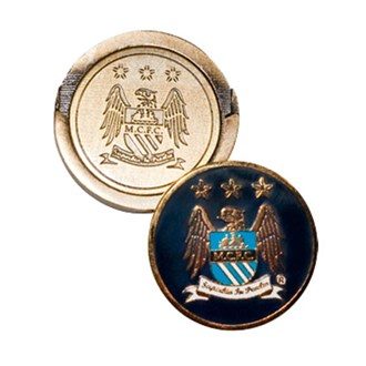 Manchester city hat clip with ball marker