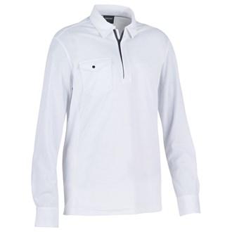 Galvin Green Mens Martin Longsleeve Polo Shirt
