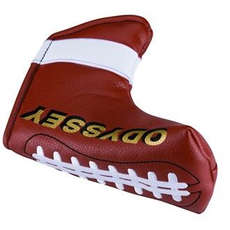 Odyssey football putter headcover