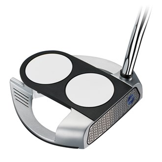 Odyssey works tank cruiser 2 ball fang putter with superstroke grip