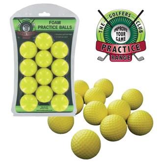deluxe foam practice balls (12 balls)