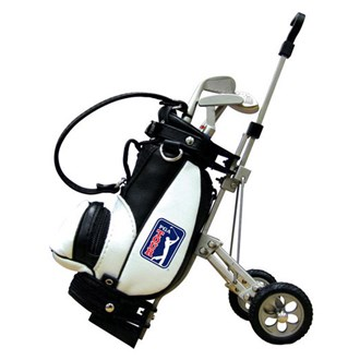 Pga tour bag & cart pen holder