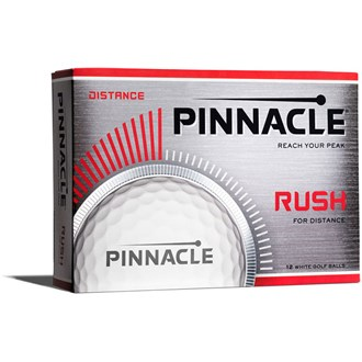pinnacle rush white balls (12 balls)