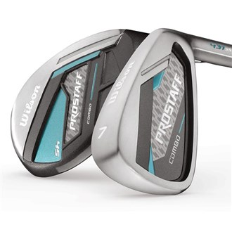 Wilson prostaff ladies hybrid combo set (graphite shaft)