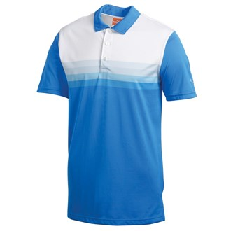 Puma Golf Mens Stripe Polo Shirt