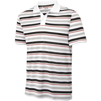 Adidas Mens FP Rugby Stripe Polo Shirt