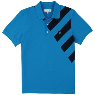 Lyle and Scott Graphic Printed Polo Shirt