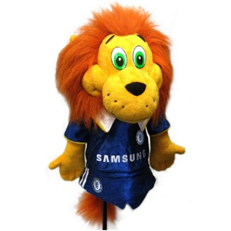 Chelsea mascot club headcover   stamford the lion