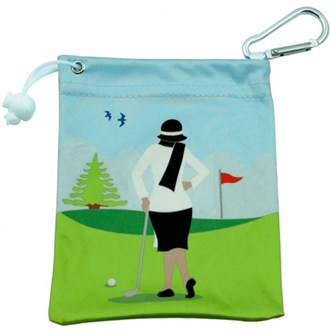 Fancy ladies tee bag van kantoor artikelen tip.