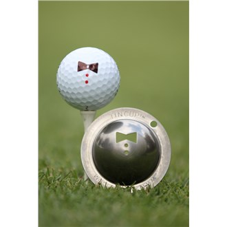 Tin Cup Ball Marker  Double 007