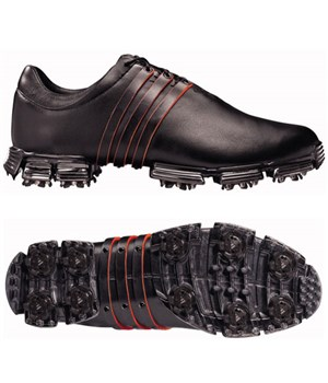 new product 15c08 050bc Adidas Tour 360 Limited Golf Shoes (BlackBlackRed) Wide