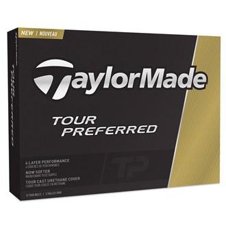 Taylormade tour preferred balls (12 balls) 2016