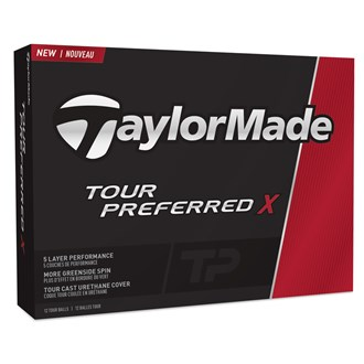 Taylormade tour preferred x balls (12 balls) 2016