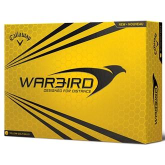 callaway warbird yellow balls (12 balls)