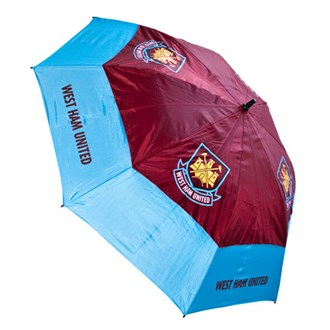 West Ham 60 Inch Double Canopy Umbrella