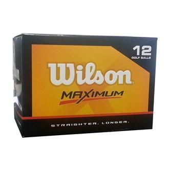 Wilson maximum distance balls (12 balls)