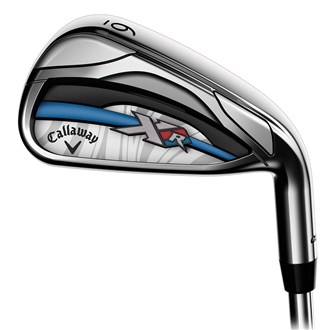 callaway ladies xr 16 os irons (graphite shaft)