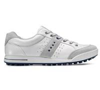 Ecco Mens Street Golf Shoes (Concrete/White/Lexi)