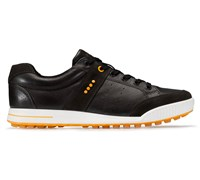 Ecco Mens Street Golf Shoes (Licorice/Coffee/Fanta)