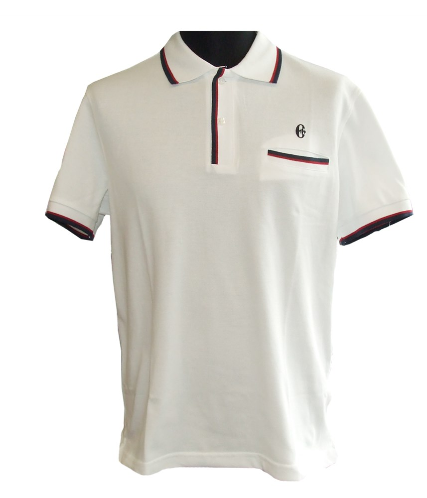 Conte Of Florence Mens Pocket Golf Polo Shirt Golfonline