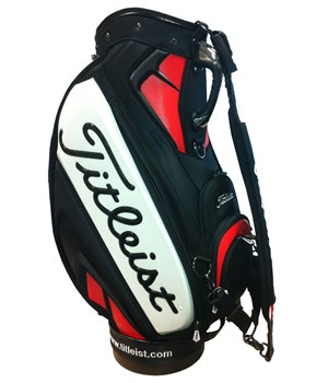Titleist 10.5 Inch Tour Vinyl Staff Bag 2013
