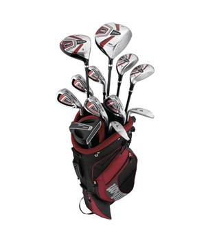 Wilson MOI Complete Golf Package Set 1 Inch Longer (Steel/Graphite) 2013