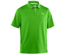 Under Armour Mens HeatGear Performance Polo Shirt 2013 (Parrot Green)