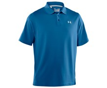Under Armour Mens HeatGear Performance Polo Shirt 2013 (Marine/Black)