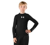 Under Armour Boys Crew Neck Compression Baselayer 2014 (Black)