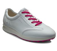 Ecco Ladies Evo Street One Golf Shoes 2013 (White/Pink)