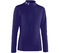 Under Armour Boys ColdGear Evo Fitted Mock Base Layer 2014 (Midnight)