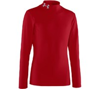 Under Armour Boys ColdGear Evo Fitted Mock Base Layer 2014 (Red)