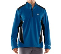 Under Armour Mens Storm 2.0 1/4 Zip Waterproof Jacket (Marine/Black)