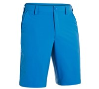 Under Armour Mens Bent Grass 2.0 Golf Shorts (Electric Blue/White)
