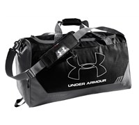 Under Armour Hustle MD Duffel (Navy/Graphite)