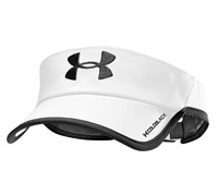 Under Armour Mens Shadow Visor 2014 (White/Black)