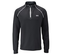 Under Armour Mens ColdGear Infrared 1/4 Zip Jacket 2014 (Black/White)
