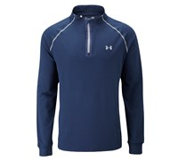 Under Armour Mens ColdGear Infrared 1/4 Zip Jacket 2014 (Navy/Steel)