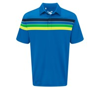 Under Armour Mens Chest Stripe Polo Shirt 2014 (Light Blue)
