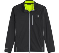 Under Armour Mens Elements Full Zip Jacket 2014 (Black/Yellow)