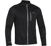 Under Armour Mens ArourStorm Full Zip Waterproof Jacket 2014 (Black/Steel)