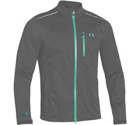 Under Armour Mens ArourStorm Full Zip Waterproof Jacket 2014 (Graphite/Alpine)