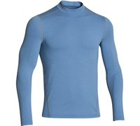 Under Armour Mens ColdGear Evo Fitted Mock Baselayer 2014 (Scatter/Steel)