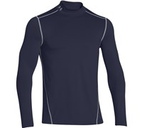 Under Armour Mens ColdGear Evo Fitted Mock Baselayer 2014 (Midnight (Navy))