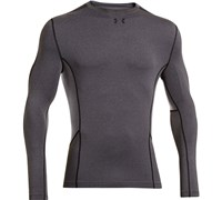 Under Armour Mens ColdGear Compression New Mock Baselayer 2014 (Carbon Heather)