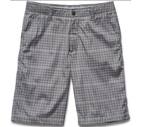 Under Armour Mens Matchplay Printed Golf Shorts 2015 (Graphite)